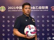 中乙官方專訪劉云飛:有信心在后兩個階段上場