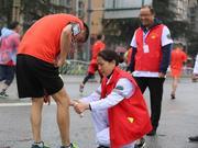 成都双遗马拉松赛事体验满分 跑友点赞暖心组委会