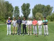 高清-高尔夫围棋双项赛打响 北京主场迎战山东