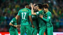 足协杯-索9传射胡尔克轰世界波 国安主场2-1上港