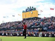 伍兹打强心针 英国公开赛收获十八年来最高收视率
