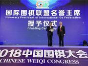世界智能赛星阵夺冠 常振明获授国围联名誉主席
