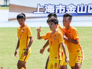 金山杯-刘轶恒进球王博文点杀 中国U15红队2-1印度