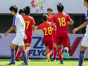 金山杯-闪击战获季军 中国U15红队3-0广岛三箭