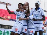 金山杯-决赛演经典 法国欧塞尔1-2负于布拉格斯拉维亚