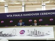 """10年之约书写新历史 WTA年终总决赛""""落户""""深圳"""