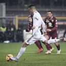 意甲-曼朱造點球 C羅里程碑進球 尤文客場贏德比
