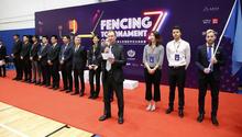 北京国际学校击剑联赛落幕