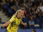 女足世界杯-悍将致胜+门神扑点 瑞典胜加拿大进8强