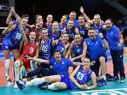 俄罗斯女排16人备战奥运资格赛 与韩墨加争门票