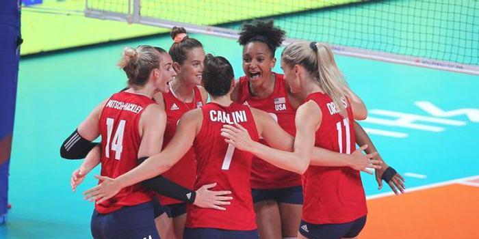 奧運資格賽美國女排14人名單 世聯班底希爾回歸