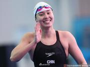 游泳世锦赛傅园慧50仰预赛第一 男女混合接力犯规