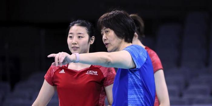 中國女排公布奧運資格賽名單 八位奧運冠軍領銜