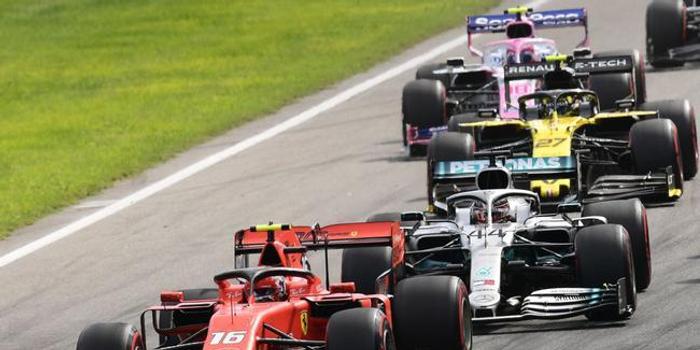 F1意大利站正赛:勒克莱尔夺冠