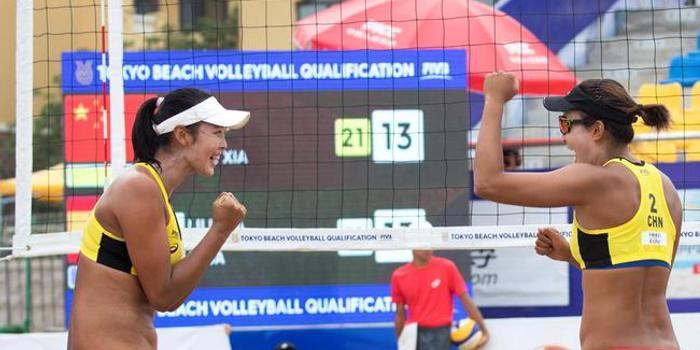 王凡和夏欣怡连续1-2惜败 东京奥运资格仍有希望
