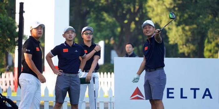 中国少年佘山冲冠 新浪体育独家直播亚太业余锦标赛