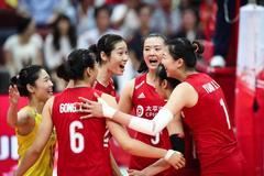 中国女排辛勤付出终有回报 世界杯冠军含金量100%