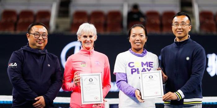 WTA慈善中网站顺利结束 朱迪-穆雷助力中网公益
