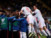 欧预赛-替补奇兵补时救主 西班牙1-1连平提前出线