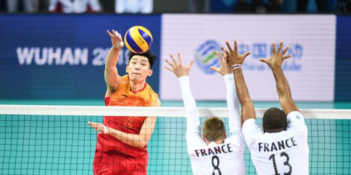 统计-中国男排3-0委内瑞拉 第一得分手江川12分