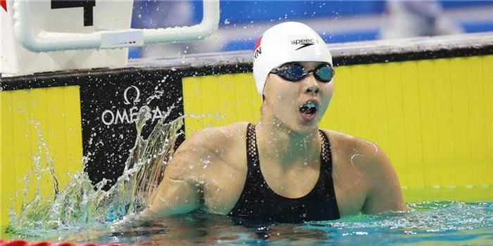 军运会中国泳军再入三金三银 女子百米飞鱼揽前二