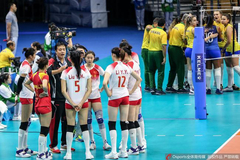 军运会中国女排决赛1-3负巴西 连续三届遗憾摘银