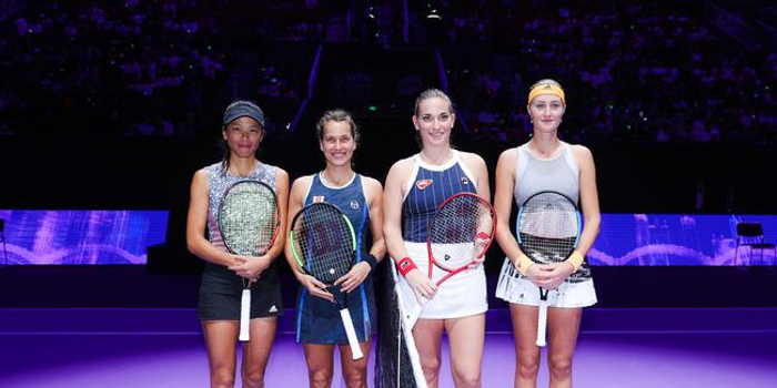 梅拉德诺维奇/巴博斯横扫 卫冕年终总决赛女双冠军