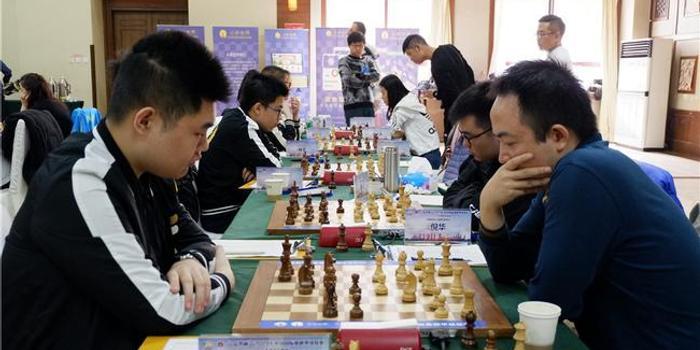 国象联赛第16轮上海胜杭州宏达 中外对决战成平手