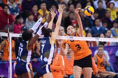 女排世俱杯完整排名:科内首登顶 中国两队垫底