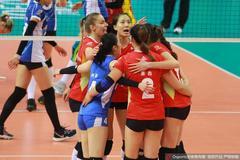科舍列娃25分恒大女排3-1上海  半决赛进入决胜场
