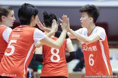 段放22分辽宁女排3-1山东女排 排位赛进入决胜场