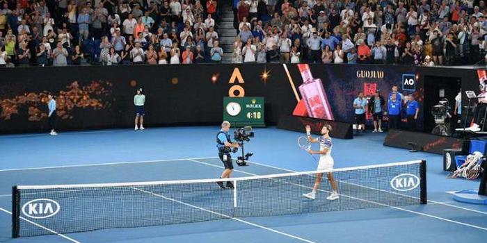 蒂姆首次在大满贯胜纳达尔 澳网享受专属胜利时刻