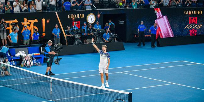 澳网蒂姆逆转兹维列夫 生涯首进硬地大满贯决赛
