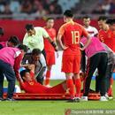 於海傷情初診:韌帶斷裂1/3 賽季報銷亞洲盃恐缺席