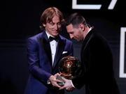 莫德里奇谈C罗缺席金球奖典礼:你需要尊重对手