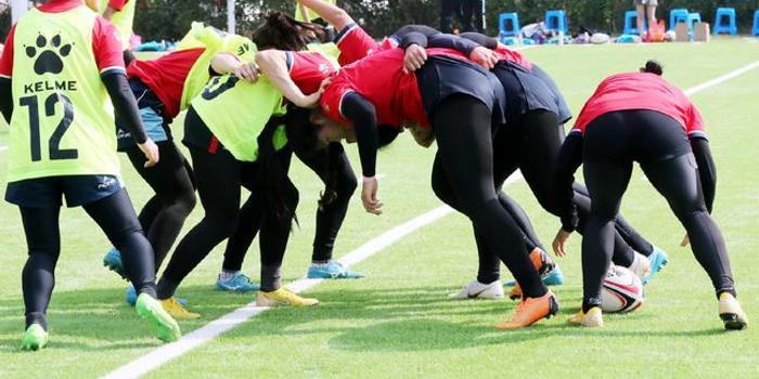 """东京奥运橄榄球资格赛开打 中国女队力争""""直通"""""""
