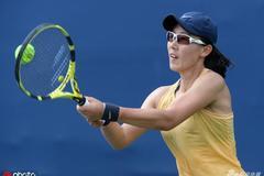 美网郑赛赛仅得1局不敌大威 今年四大满贯均首轮游