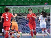 亚足联女子五人制锦标赛开幕 中国5-2巴林迎开门红