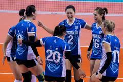 冲联赛第6冠上海女排征途坎坷 12年6次争冠均受挫