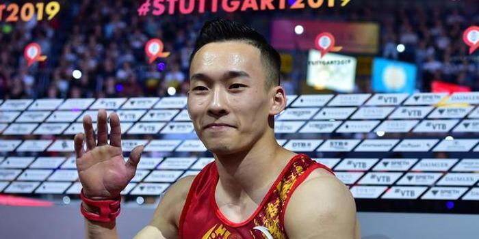軍運會體操男子個人全能 肖若騰鄧書弟包攬冠亞軍