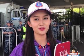 世界杯现中国美女志愿者