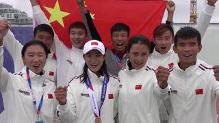 帆联世锦赛中国队完成计划