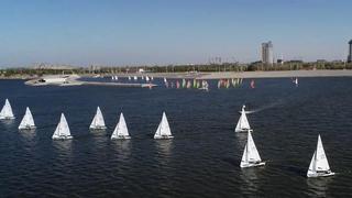 中国帆船联赛潍坊站第三日