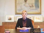 视频-克罗地亚总统祝贺魔笛获奖:整个国家为你骄傲