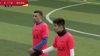 5人制足球国家队教练李欣参赛