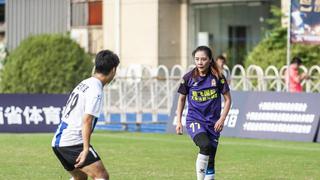 王莎莎现身足金西安省级赛