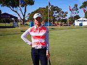 澳洲女子公开赛刘钰次轮70杆 夜色中练习开局不稳