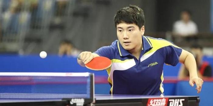 全锦赛梁靖崑力克林高远 八一北京男团争夺冠军