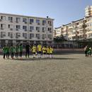 首都體育學院高參小籃球足球 主客場挑戰賽開展