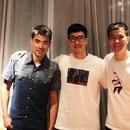 史东鹏与刘翔谢文骏再同框  网友:这是神仙阵容